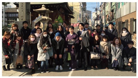 2017年 仕事始め・下谷神社